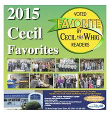 winners of cecil favorites 2015 business cecildaily com