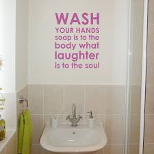 Wall Art Ideas For Bathroom by Bellow We Give You Bathroom Wall Sayings Shopping Blog And Also
