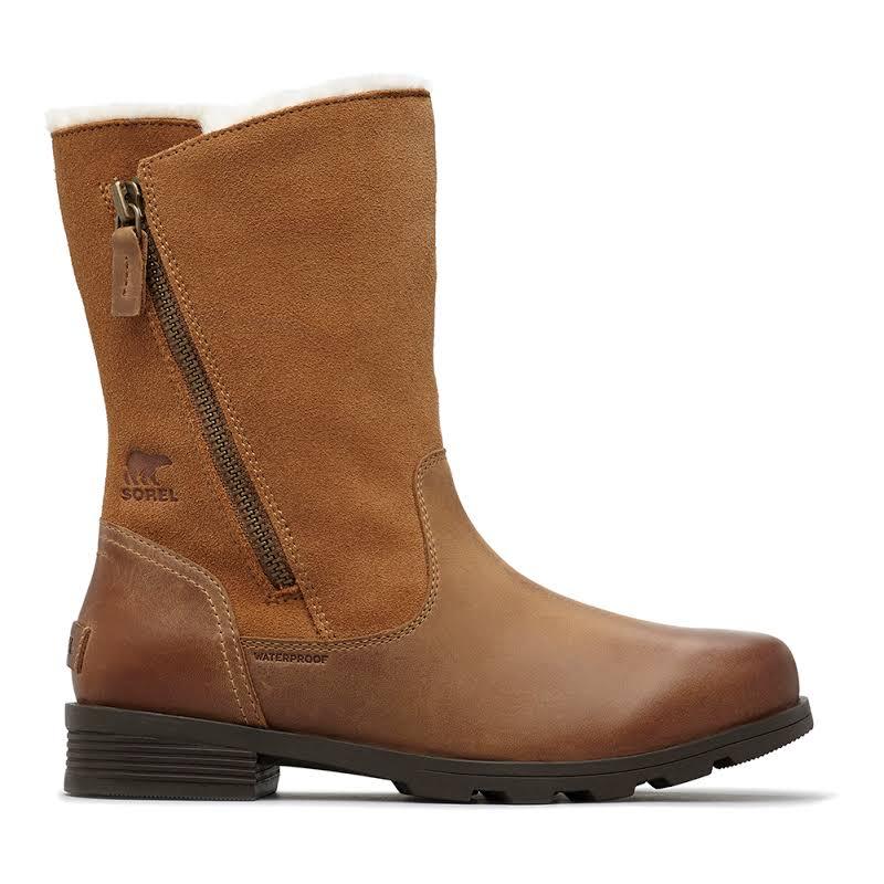 Sorel Emelie Foldover Boot Camel Brown