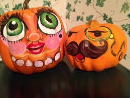 painting pumpkin faces halloween pinterest painting pumpkins