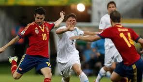 Pertandingan Spanyol vs Uruguay Piala Konfederasi