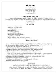 On Campus Job Resume by Resume Template Styles Resume Templates Myperfectresume Com