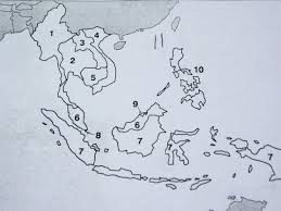 Blank Map Of Oceania by Southeast Asia Map Quiz Roundtripticket Me