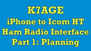 Ham Radio Business Cards Templates Ham Radio Iphone To Icom Ht Interface Part 1 Planning Youtube