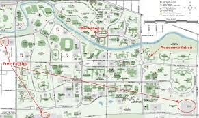 Map Of University Of Michigan by Lon Capa Summer Workshop 2011