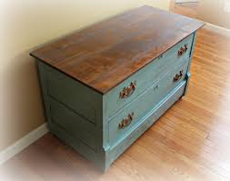 Chalk Paint Furniture Ideas by Rustic Antique Dresser Painted In Provence Blue Annie Sloan