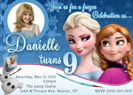 Birthday Invitation Cards For Kids Interesting Frozen Invitation Cards 80 With Additional Invitation
