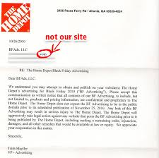 home depot black friday sales circular home depot sends us an angry incorrect letter