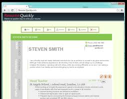 Resume Builders Online by Online Resume Builder Build Your Resume In 3 Easy Steps With
