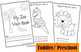 FREE Zoo Fieldtip Animal Reports Toddler Zoo Fieldtrip Animal Book