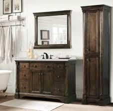 Legion  Inch Antique Single Sink Bathroom Vanity Antique Coffee - 48 bathroom vanity antique white