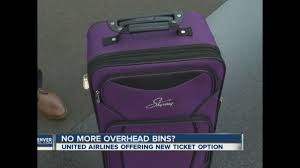 United Airline Baggage by United Airlines To Charge Less For New Ticket Price If You Want To