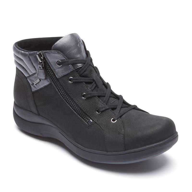 Rockport Aravon Rev WP Low Boot Black
