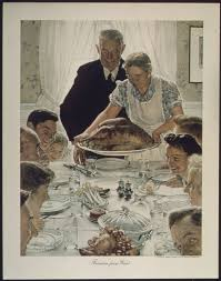 images of a thanksgiving dinner freedom from want painting wikipedia