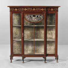 china cabinet china cabinet art nouveau auction lot estimate