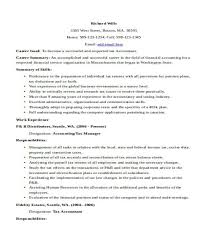Tax Accountant Sample Resume by 33 Accountant Resume Samples