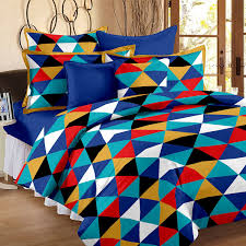 buy story home 120 tc cotton single bedsheet with pillow cover