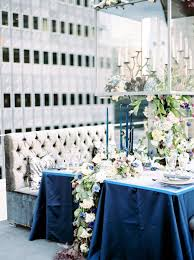 Black Blue And Silver Table Settings Luxurious Blue And Silver Table Setting Centerpieces For