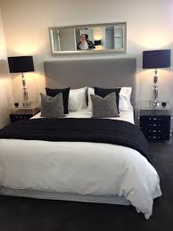 Grey And White Bedroom Decorating Ideas Chic Bedroom Love This Ideas For The House Pinterest
