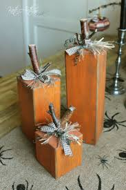 Recycle Home Decor Ideas Best 25 Wooden Pumpkins Ideas On Pinterest Wooden Pumpkin