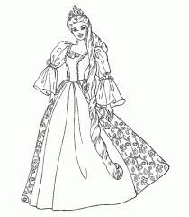 barbie princess coloring pages pertaining to really encourage