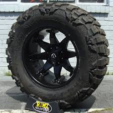 Customer Choice This Mud Tires For 24 Inch Rims 20x12 Fuel Octane D509 Wheels Black W Nitto Mud Grappler Mt 37x13