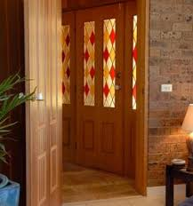 stained glass door film guide to stained glass window coverings