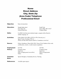 Sample Resume Format Usa by High Students With No Experience Template Student