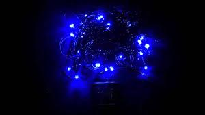 Blue Led String Lights by String Lights 80 Blue U0026 Cool White Superbright Twinkle Led Bulbs