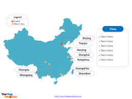 Map Of China Provinces Free China Editable Map Free Powerpoint Templates