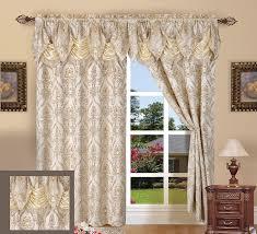 amazon com elegant comfort penelopie jacquard look curtain panel