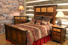 bedroom bright rustic bedroom ideas with structure stone wall bedroom bright rustic bedroom ideas with structure stone wall and brown wood headboard also square
