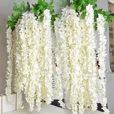 Wisteria Home Decor by Aliexpress Com Buy 90cm Artificial Flower Rattan Wisteria