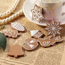 aliexpress com buy 11pcs christmas pendants lot snowflake