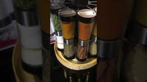 kitchen must haves 20 jar revolving spice rack 2 in 1 orll youtube