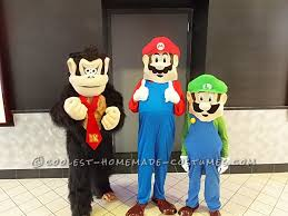 halloween costumes websites for kids mario luigi and donkey kong costumes for kids donkey kong