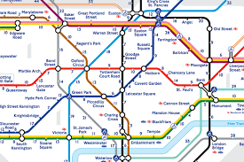 Us Circuit Court Map London U0027s U0027walk The Tube U0027 Map Reveals The Real Distance Between