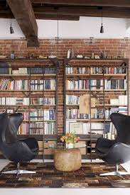 Loft Shelving by Old Fire Station Turned Into Dashing Modern Industrial Loft In