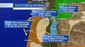 Newport Oregon Map by Hurricane Force Winds Hit Along Oregon Coast