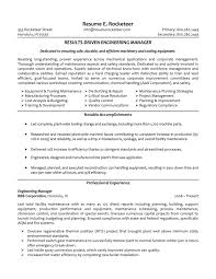 Student Resume Summary Examples by Engineering Manager Resume Examples Resume Format 2017