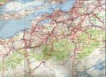 carte routiere algerie