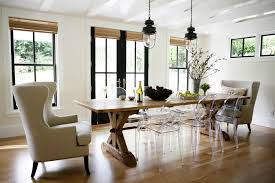 Bamboo Dining Room Furniture by Modern Rustic Dining Room Mynest