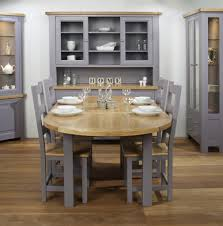 Ashley Furniture Round Dining Sets Furniture Wide Seat Comfortable With Farmhouse Dining Chairs