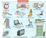 6ème 2 - Freshmen - The chores around… - Talking about a TV ...