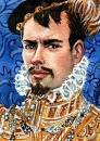Art: Robert Dudley, 1st Earl of Leicester by Artist Mark Satchwill - Robert-Dudley-1st-Earl-of-Leicester