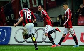 Pertandingan AC Milan vs Catania