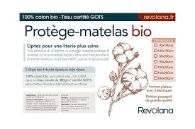 couverture coton bio protège matelas absorbant 100 coton bio 380g m 7 tailles