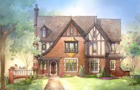 Stone House Plans European Cottage Style House Plans