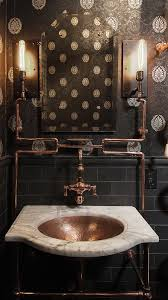 Bathroom Vanity San Francisco by Steampunk Style Masculine Bathroom Bathroom Designs And Steampunk