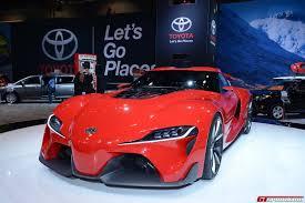 New Supra Price Chicago 2014 Toyota Ft 1 Concept Gtspirit